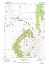 Topographic Map Of Utah by Snowville Topographic Map Ut Usgs Topo Quad 41112h6