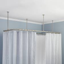 Ceiling Mount Rod by Accessories Ceiling Mount Curtain Rods Regarding Fresh Oval
