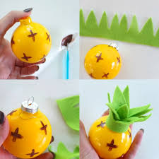 fruity bauble ornaments my poppet makes