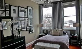 Loft Apartment Bedroom Ideas Small Modern Minimalist Loft Apartment Bedroom Interior In Grey