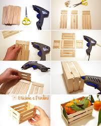 Come Costruire Una Casetta Per Conigli by Mini Cassette Di Legno Fai Da Te Con Gli Abbassalingua