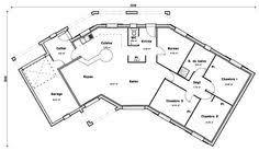 plan de maison en v plain pied 4 chambres plan de maison en v gratuit 9 moderne novela systembase co