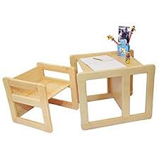 3 in 1 children u0027s multifunctional furniture set of 2 one small