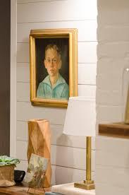 basement paneling makeover using shiplap boards