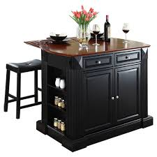 kitchen island and stools beachcrest home byron kitchen island with cherry top and saddle
