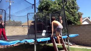 wwe tag team match trampoline video dailymotion