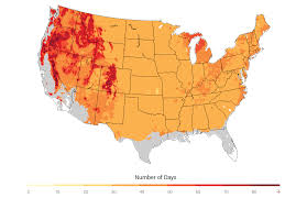 United States Climate Map by Agriculture National Climate Assessment