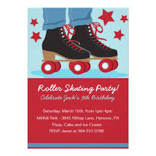 personalized roller skate invite invitations custominvitations4u com
