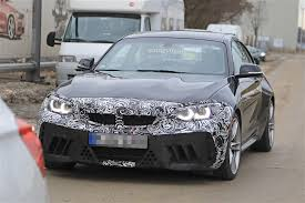 2018 bmw m2 cs spotted winter testing with m3 engine autoevolution