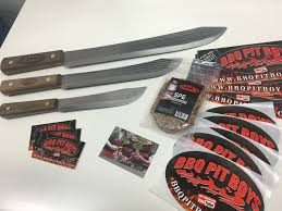 the pit shop official bbq boys merchandise bbq pit boys old hickory knife gift set