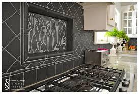 chalkboard kitchen backsplash 15 unique diy kitchen backsplash ideas to personalize your cooking