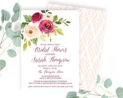 bridal brunch invite bridal brunch invitations chalkboard floral bridal shower