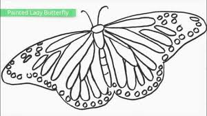colouring pictures of butterflies butterfly my coloring land