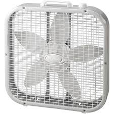 white fans lasko 20 box fan white walmart