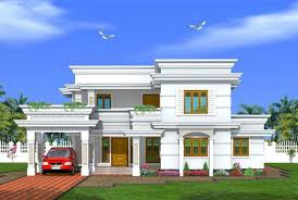 design from home kerala style 2288 sqft villa design traditional