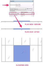 how to show demolition door in an existing curtain wall u2013 method