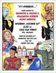 party talk halloween invitation wording ideas