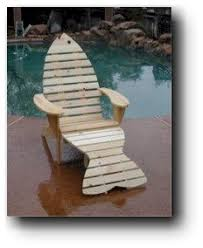 adirondack fish chair wood plans general pinterest wood