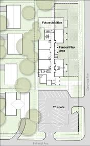 bvh architectural site plan for new cdc 6 classroom version