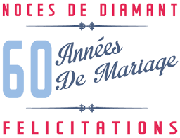 60 ans de mariage noces de 60 ans de mariage noces de diamant symbole idées cadeaux