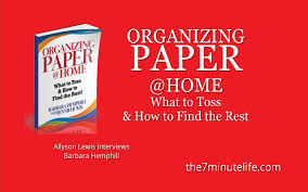 clutter organizing paper at home allyson lewis interviews clutter organizing paper at home allyson lewis interviews barbara hemphill