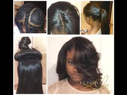 black hair salon bronx sew in vixen hair london girl gets 1 2 vixen sew in w silkbase closure best los