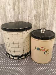 black and white kitchen canisters 1275 best canister sets images on canister sets