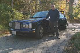 bentley arnage r celebrity drive singer songwriter don mclean motor trend
