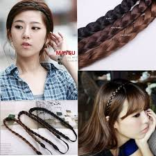 braid hairband elastic hairband women wig braid hair accessories