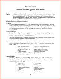 Letter Of Termination Of Employment Contract by Free Employee Contracts Templates Thebridgesummit Co