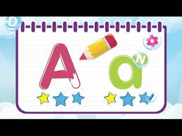 learn to write letter from a to z uppercase and lowercase