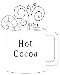 cocoa on christmas day coloring page holidays christmas
