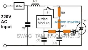soft start soft stop circuit for motors
