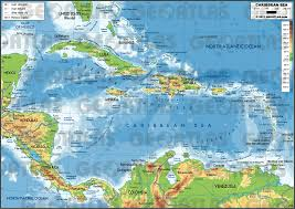 carribbean map geoatlas continental maps caribbean sea map city illustrator