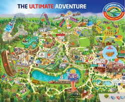 Map Of Wet N Wild Orlando by Themeparkmedia Co Uk Lightwater Valley Maps