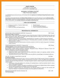 Qa Analyst Resume Sample Systems Analyst Resume Business System Analyst Resume Business