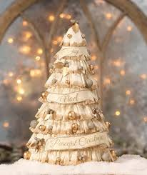 Christmas Crepe Paper Decorations by Peaceful Christmas Crepe Paper Tree Bethany Lowe