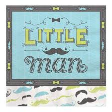 baby shower mustache dashing mustache party baby shower luncheon napkins