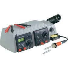 soldering station analogue 48 w basetech zd 99 150 up to 450 c