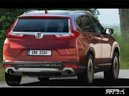 honda crv 2017 colors 2017 honda cr v could get rs variant with 2l turbo engine
