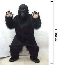 Chip Costume Ebay Gorilla Costume Ebay