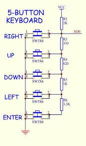 arduino info keyboards multiplebuttons