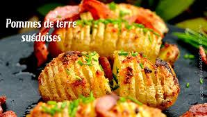 recette de cuisine a base de pomme de terre recette des pommes de terre suédoises petits plats entre amis
