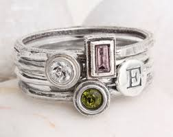 rings for mothers jewelry gifts 50 etsy