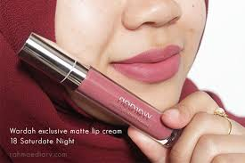 Lipstik Wardah 18 varian warna wardah lip exclusive matte tipkecantikan