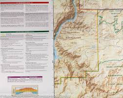 Sequoia National Park Map Trail Map Of Canyonlands National Park Needles District Utah