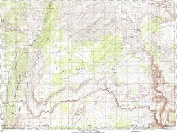 Utah Blm Map by Buckskin Gulch Wild Backpacker