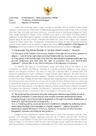 Sample Vendor Contract Template 9 Position Paper On Protection Of Maritime Refugees Republic Of