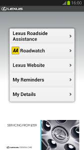lexus roadside assistance lexus roadside assistance android apps on play