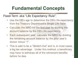 rmd single life table who should be the beneficiary of your ira ppt download